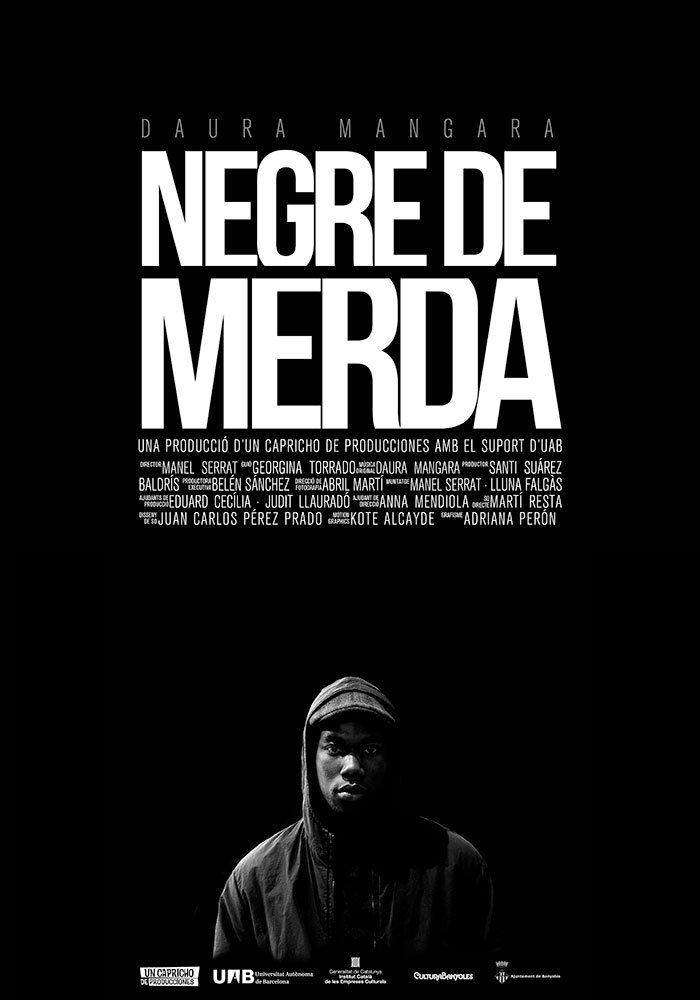 Negre de merda | Poster Documental