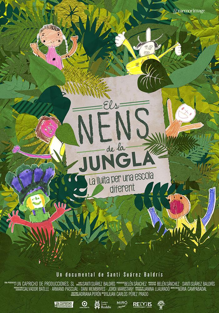 Els nens de la jungla | Poster documental